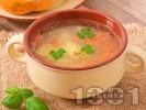 Рецепта Зеленчукова супа с картофи, моркови и ориз
